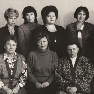 1990 г. Педагоги отделения «Теория музыки»