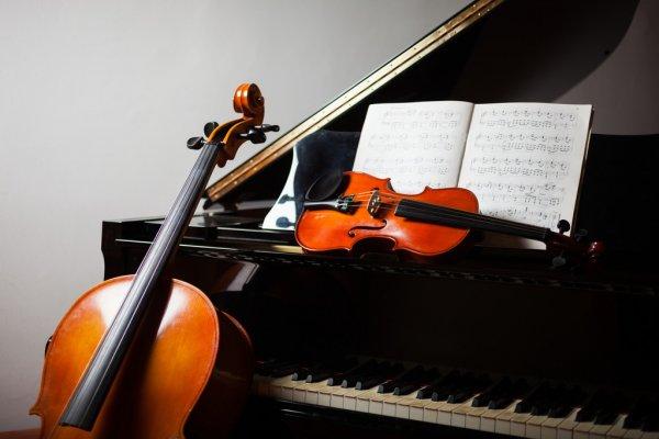 скрипка виолончель